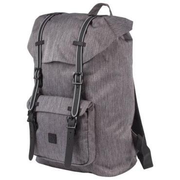 Рюкзак молодежный с отделением для ноутбука, серый меланж, 41х28х14 см. Brauberg Кантри