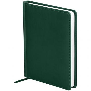 Ежедневник недатир. A6, 136л., кожзам, OfficeSpace Winner, зеленый
