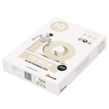 Бумага IQ Premium А4, 200г/м2, 250л., 172%