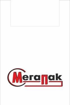 Майка-пакет 43х80 см., пнд с логотипом 100 шт., МегаПак
