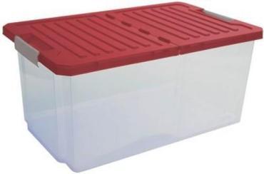 Ящик для хранения 12 л., бордовый BranQ Unibox, 490 гр.