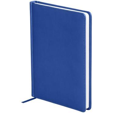 Ежедневник недатир. A5, 136л., кожзам, OfficeSpace Winner, синий