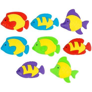 Ластик ArtSpace Рыбки, фигурный, термопластичная резина, ассорти, 50*30*10мм