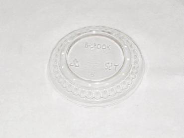 Крышка прозрачная выпуклая, диаметр 100 мм., ТЕФО, картонная коробка