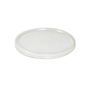 Крышка полупрозрачная прессованная / мёд, диаметр 96 мм., высота 15 мм., Aerosnab, картонная коробка