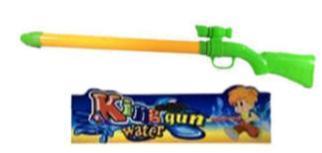 Водянное ружье помпа с прицелом, пластиковый пакет