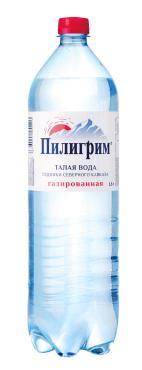 Вода газированная Пилигрим 1,5 л., пластиковая бутылка