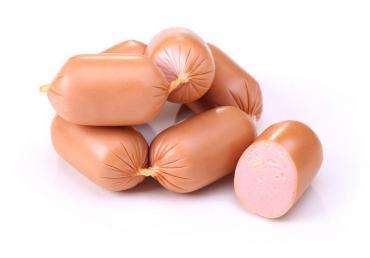 Сардельки Брестский мясокомбинат Колобок с сыром, 3 кг., оболочка