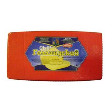 Сыр 45% Вамин Голландский, 3 кг., вакуумная упаковка