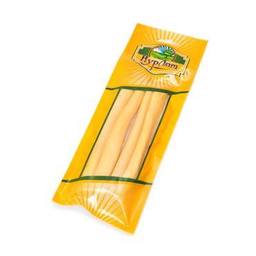 Сыр сычужный копченый охотничий рассольный в/у Нурлат 80 гр., вакуумная упаковка
