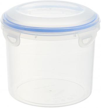 Контейнер пищевой круглый 1,3 л., Н88хD178 мм., с крышкой,пластик, Bora