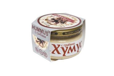 Закуска хумус с грибами Тайны Востока 200 гр., стекло