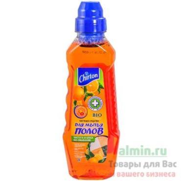 Чистящее средство для мытья пола, Chirton Бодрящие цитрусы, 500 мл., пластиковая бутылка