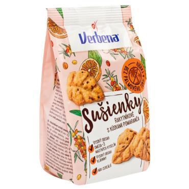 Печенье, Облепиховое с апельсином Verbena, 90 гр., флоу-пак