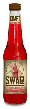Лимонад крафтовый Гранат-инжир, Swag, 330 мл., стекло