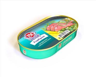 Филе горбуши с добавлением масла Hanza, 175 гр., жестяная банка