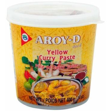 Паста Карри Aroy-D желтая, 400г
