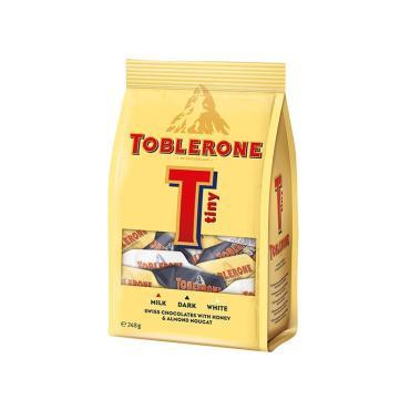 Конфеты Tiny Mix,  Toblerone, 248 гр., флоу-пак