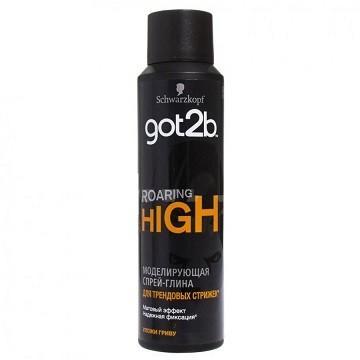 Спрей-глина для укладки Got2b Roaring High, 150 мл., аэрозольная упаковка