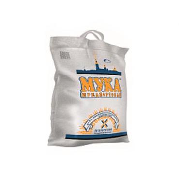 Мука пшеничная хлебопекарная высший сорт Предпортовая, 10 кг., мешок