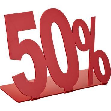 Подставка Акция 50%, 205х175 мм