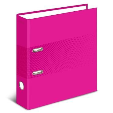 Папка-регистратор Attache Digital, розовый. лам.карт,75мм