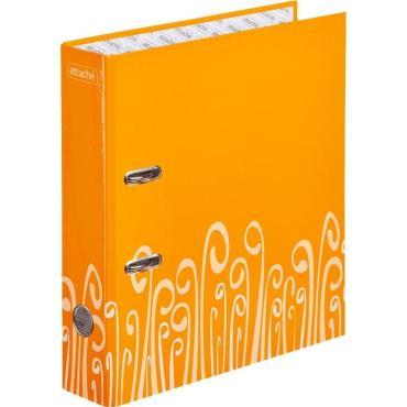 Папка-регистратор Attache Fantasy 75мм ламин.картон оранжевый