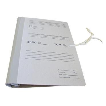 Короб Отчет Архив Attache Economy на завязках с гребешками 8 0 мм