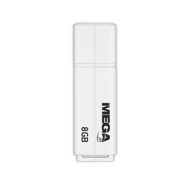 Флеш-память ProMega jet, 8Gb, USB 2.0, бел, PJ-FD-8GB-White