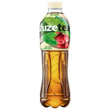Чай холодный, улун малина/мята, Zero, Fuze, 1 л., ПЭТ