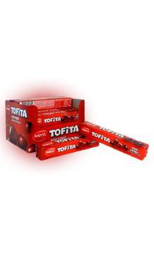 Конфета Tofita жевательная вишня, 47 гр., картон