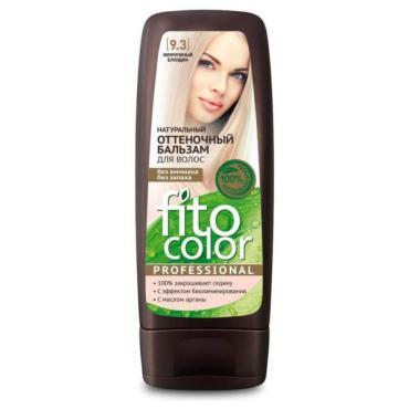 Бальзам для волос оттеночный жемчужный блондин, Fito Косметик Fito Color Professional, 140 мл., пластиковая бутылка