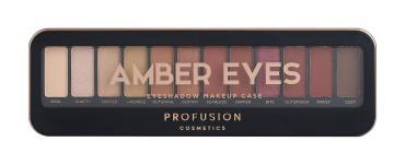 Набор теней для глаз ProFusion Amber Eyes, 120 гр., пластиковая упаковка
