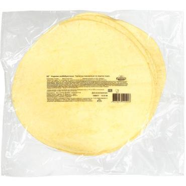 Тортильи пшеничные оригинальные, 12 дюйм. (12)Т5х1000г., Солнце Мехико, вакуумная упаковка