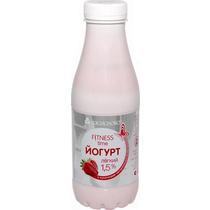 Йогурт Fitness со вкусом клубники 1,5%, 450мл