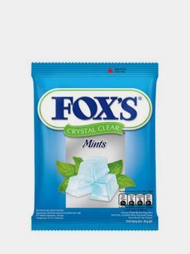 Конфеты Fruity Mints,  Fox's, 125 гр., флоу-пак