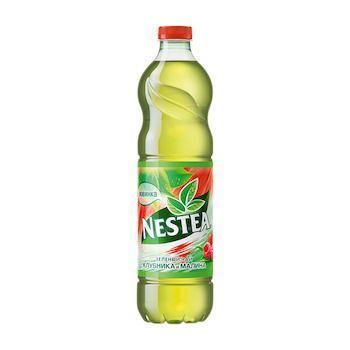 Чай Nestea холодный зеленый малина 1 л., ПЭТ