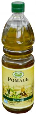 Масло оливковое для жарки Помас, KORVEL, 1 л., ПЭТ