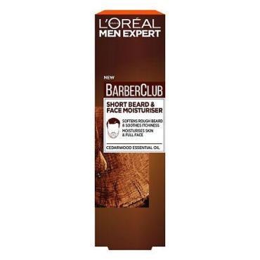 Уход для короткой бороды L'Oreal Men Expert Барбер Клаб, 50 мл., картонная коробка