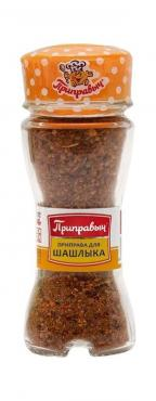Приправа для шашлыка, баночка солонка, Приправыч, 47 гр., стекло