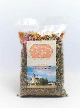 Чай №24 Для бани, Монастырский, 100 гр., пакет