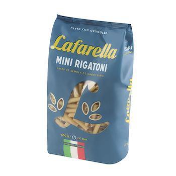 Макароны мини трубочки Lafarello, 500 гр., пластиковый пакет