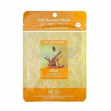 Маска тканевая для лица в ассортименте золото Mijin Essence Mask, 23 гр., сашет
