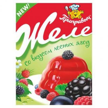 Желе Приправыч со вкусом лесных ягод, 100 гр., саше