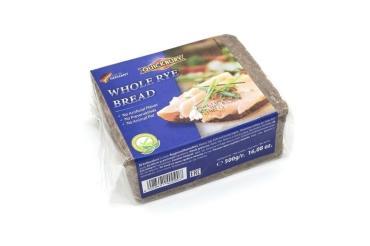 Хлеб Quickbury Whole Rye Bread цельнозерновой , 500 гр., пакет