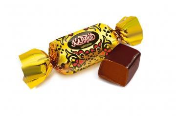 Конфеты пралиновые конфеты с шоколадно-сливочным вкусом Konti Карагод, 1 кг., пластиковый пакет
