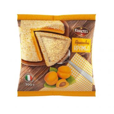 Бисквит абрикосовый Faretti, 300 гр., флоу-пак