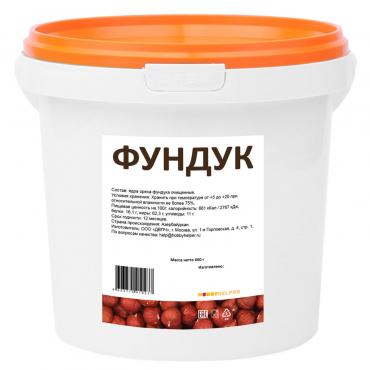 Фундук HobbyHelper, 600 гр., пластиковое ведро