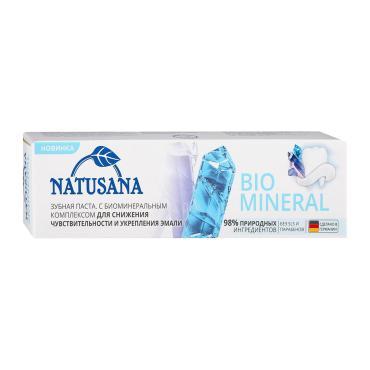 Зубная паста Natusana bio mineral, 100 мл., картон