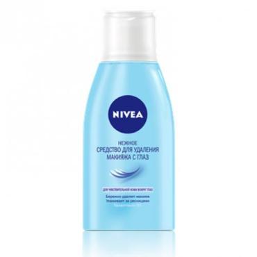 Средство Nivea для снятия макияжа с глаз для чувствительной кожи
